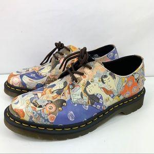Dr. Martens Shoes 146 Womens Sz 9 Japan floral